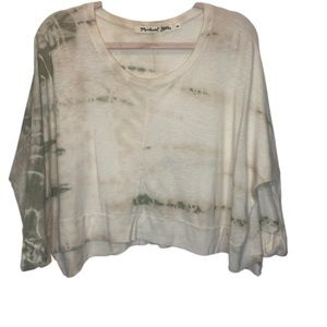 Michael Stars | White Crop Top | One Size